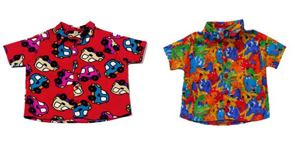 As peças têm padronagens super alegres e vestem meninos e meninas de 6 meses  a 8 anos. Pra elas 9ad6badd554f3