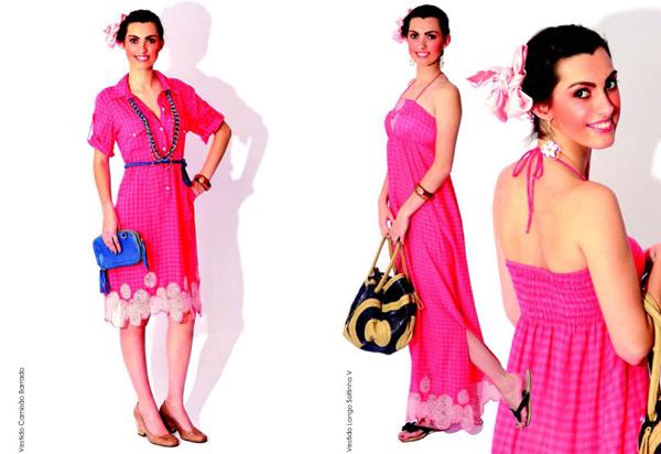 8d32b8c5d Sua proposta é aliar conforto à preocupação ambiental, vestindo a mulher de  forma orgânica, valorizando suas curvas, com tecidos de toque suave e de  origem ...