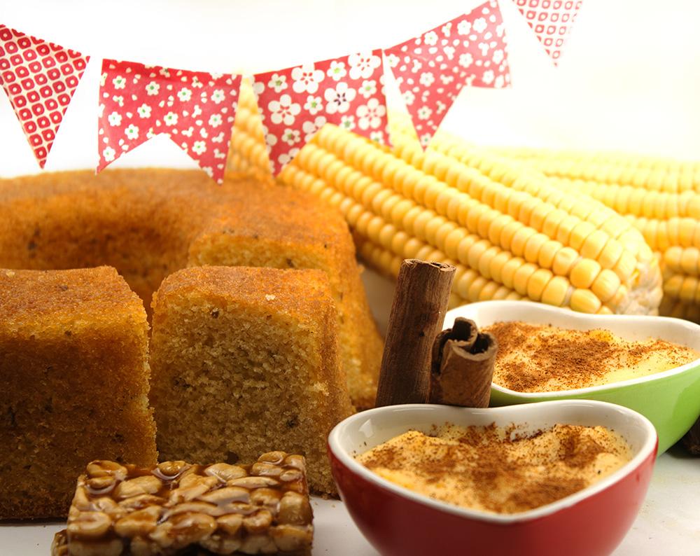 Traditional Brazilian food for Festa Junina.